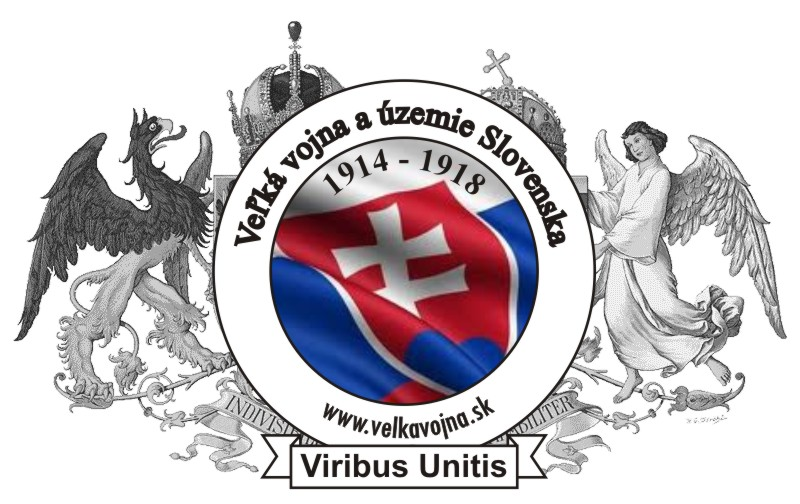 Logo Veľká vojna a územie Slovenska 1914 - 1918